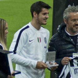 Transfergeruchten: Tianjin Quanjian meldt zich voor Alvaro Morata