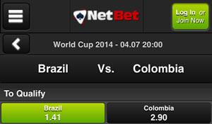 Wat zijn de voorspellingen voor Brazilië - Colombia van de bookmakers?