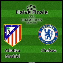 Wedden op Halve finale Champions League: Atletico Madrid – Chelsea (22 april 2014)
