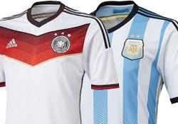 FIFA WK Voetbal 2014 Finale: Opstellingen Duitsland & Argentinië – Müller tegen Messi