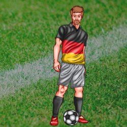 EK 2016: Selectie Duitsland met Rugnummers van het Duits Elftal