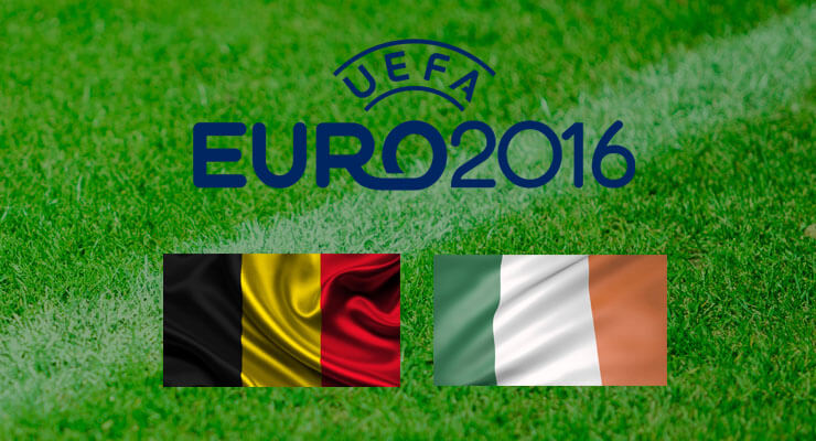 UEFA Euro 2016: Belgie - Ierland