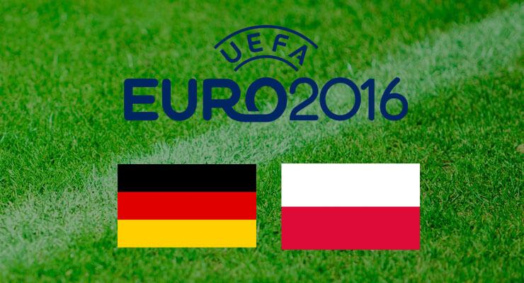 UEFA Euro 2016:  Duitsland - Polen