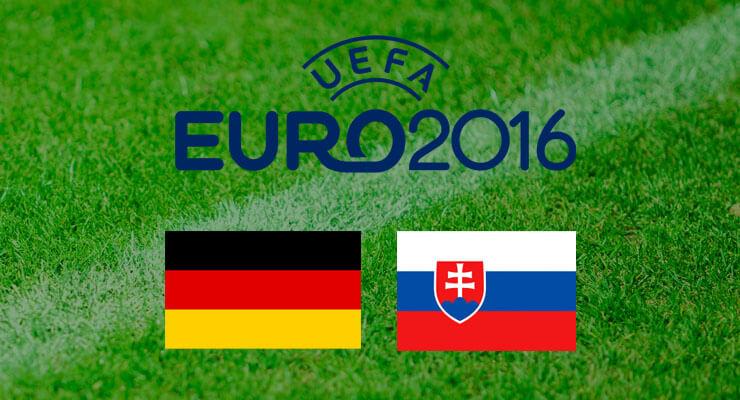 UEFA Euro 2016: Duitsland - Slowakije
