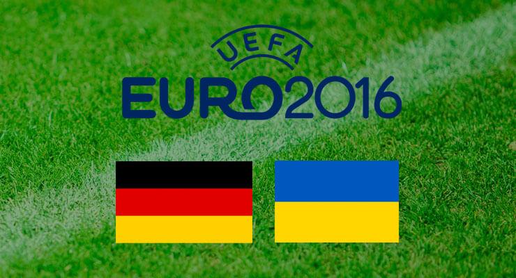 UEFA Euro 2016: Duitsland - Oekraine