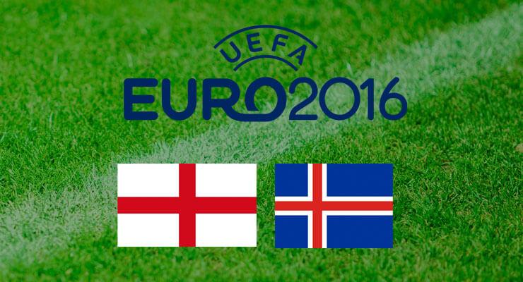 EK Voetbal 2016: Engeland - Ijsland