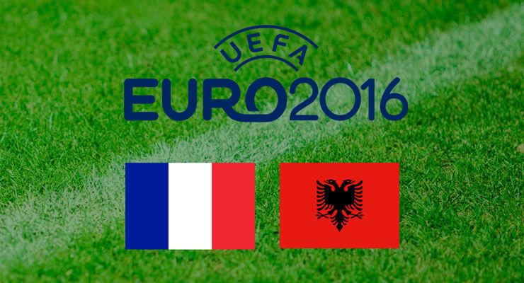 UEFA Euro 2016: Frankrijk - Albanie