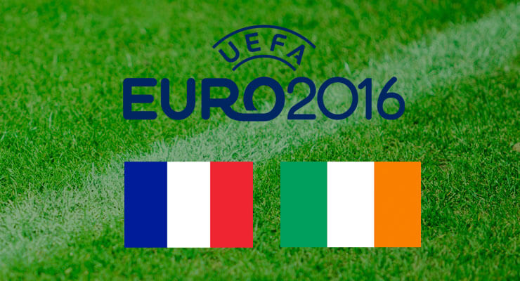 UEFA Euro 2016: Frankrijk - Ierland