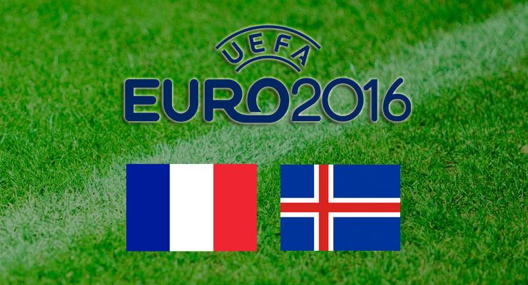 EK Voetbal 2016 Frankrijk - IJsland
