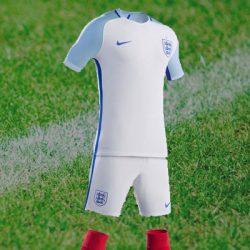 Selectie Engeland met de Rugnummers van het Engelse Elftal – EK 2016