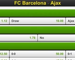 Champions League: Wedden op FC Barcelona – Ajax bij Unibet