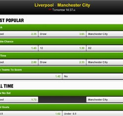 Premier League: Liverpool – Manchester City (13 april 2014)