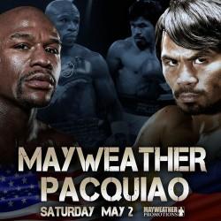 Mayweather vs Pacquiao wordt de grootste bokswedstrijd ooit.