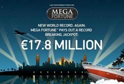 Online Gokkasten: Wereld Record voor Mega Fortune Jackpot