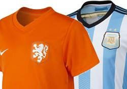 FIFA WK Voetbal 2014 Oranje – Halve Finale: Opstelling Nederland – Argentinië