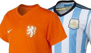Wat zal de opstelling worden van Het Nederlands Efltal en van Argentinië?