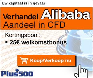 Alles over handelen in CFD aandelen Alibaba Groep.