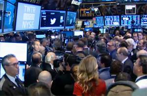 handelen in aandelen twitter
