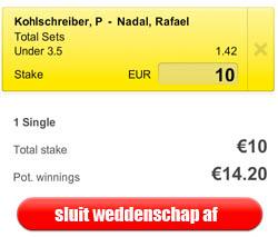 US Open Live: Kohlschreiber-Nadal