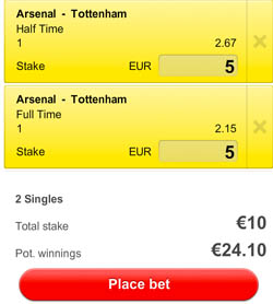 Arsenal - Tottenham