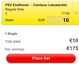 PSV - Cambuur