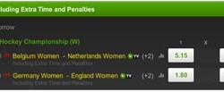 EK hockey dames: Duitsland favoriet voor de titel, Nederland wordt waarschijnlijk derde