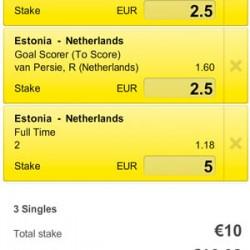 WK kwalificatie: Oranje gaat voor foutloze kwalificatie tegen Estland