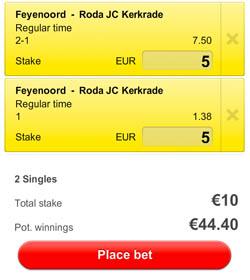 Feyenoord - Roda jc