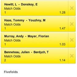 US Open Live Stream: Vandaag derde ronde met oa Murray, Hewitt, Haas, Djokovic
