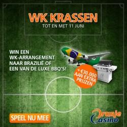 WK 2014: Kaarten winnen voor Spanje – Nederland