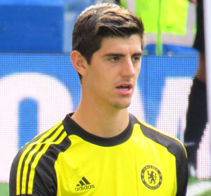 Rode Duivels Keeper Thibaut Courtois