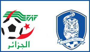 De voorspellingen voor de wedstrijd Algerije - Zuid Korea.