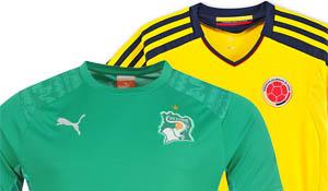 Colombia Ivoorkust