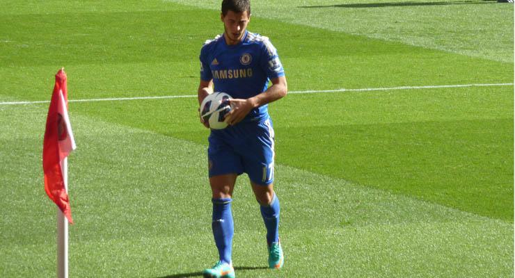 Chelsea Speler Eden Hazard