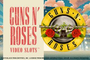 Guns N' Roses Video Slots Logo