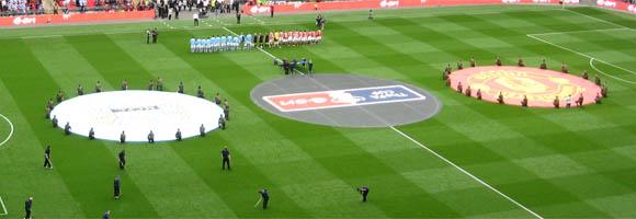 Derby tussen Manchester City en Manchester United © Oldelpaso