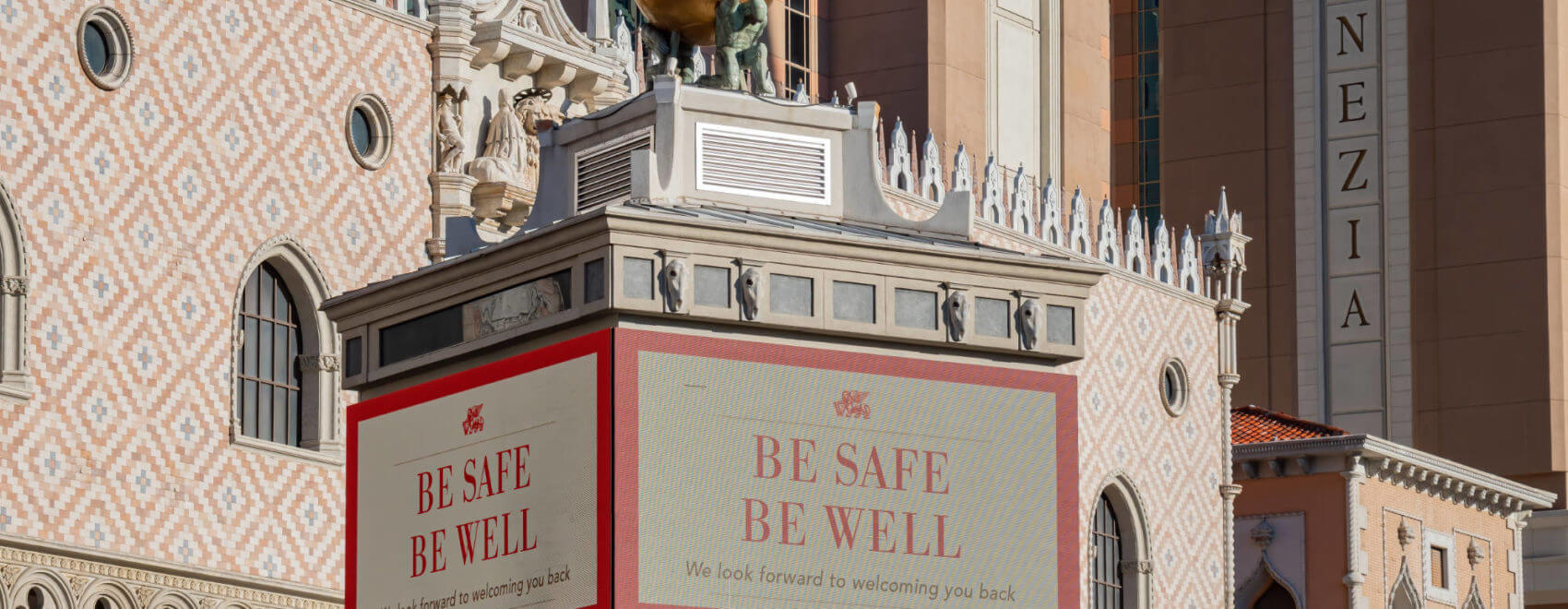 Venetian Casino gesloten tijdens corona crisis