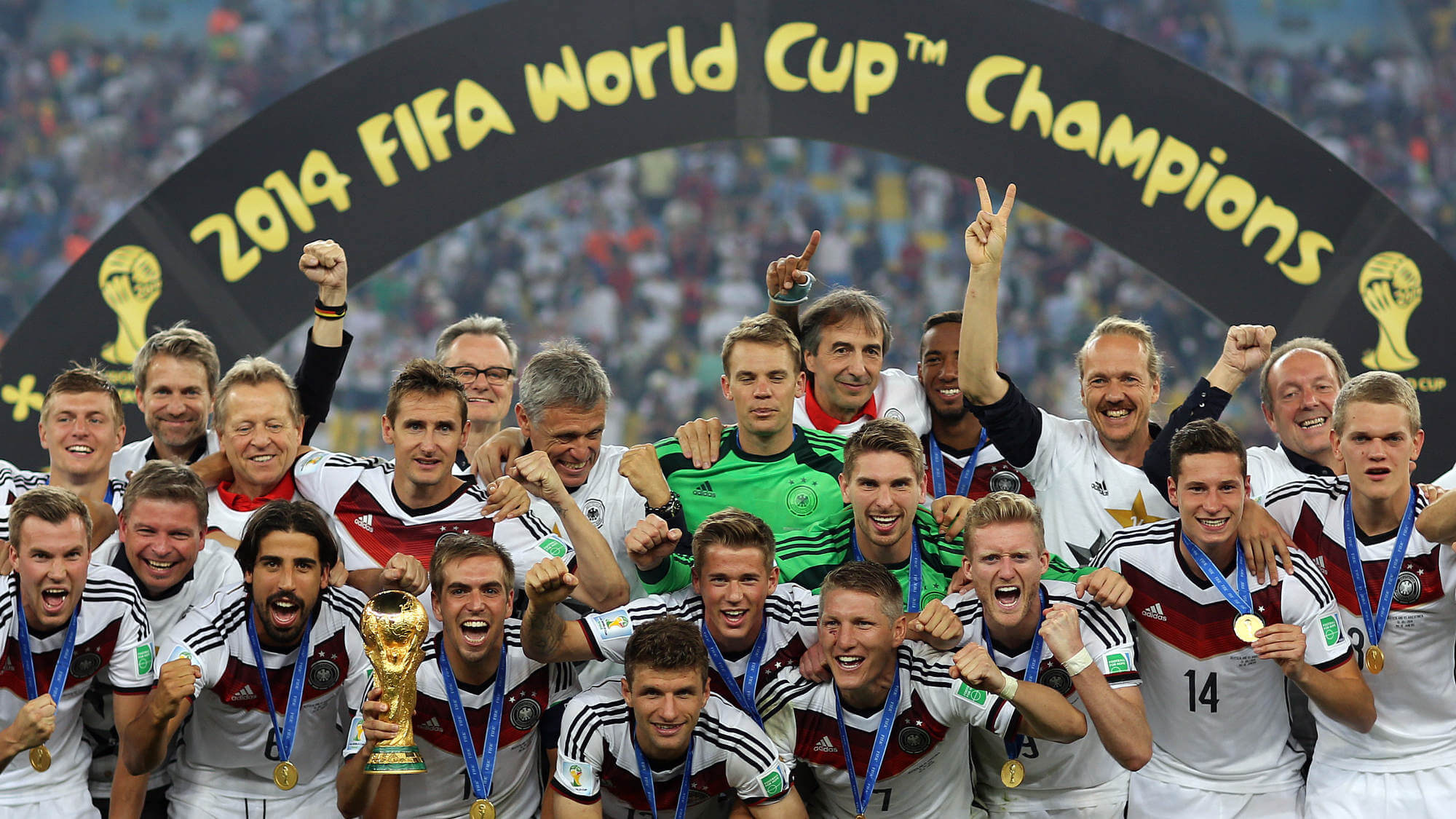 Duitsland Wereld Kampioen Voetbal 2014
